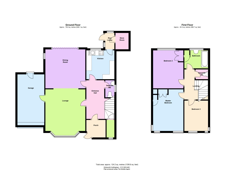 3 bedroom property for sale in tollerton lane tollerton for 16 brookers lane floor plans