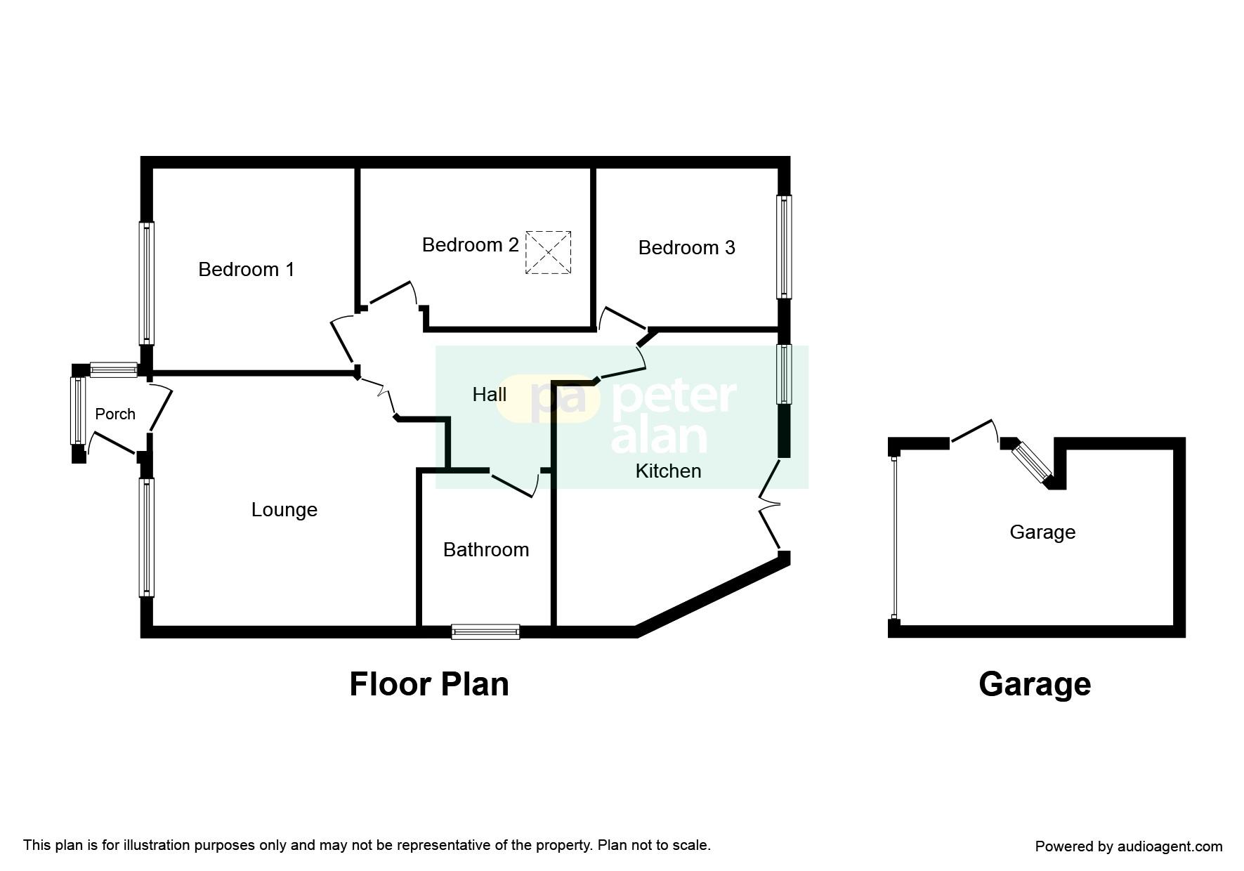 3 bedroom property for sale in heol dowlais efail isaf for Q kitchen pontypridd