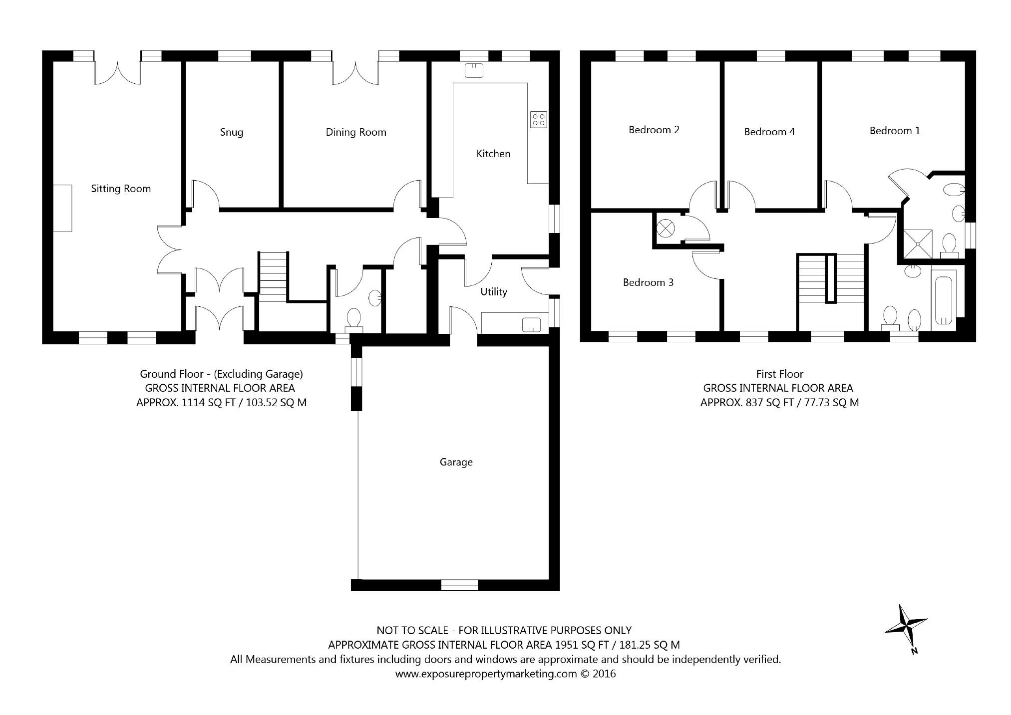 4 bedroom property for sale in jackdaw lane boston spa for 1125 maxwell lane floor plans