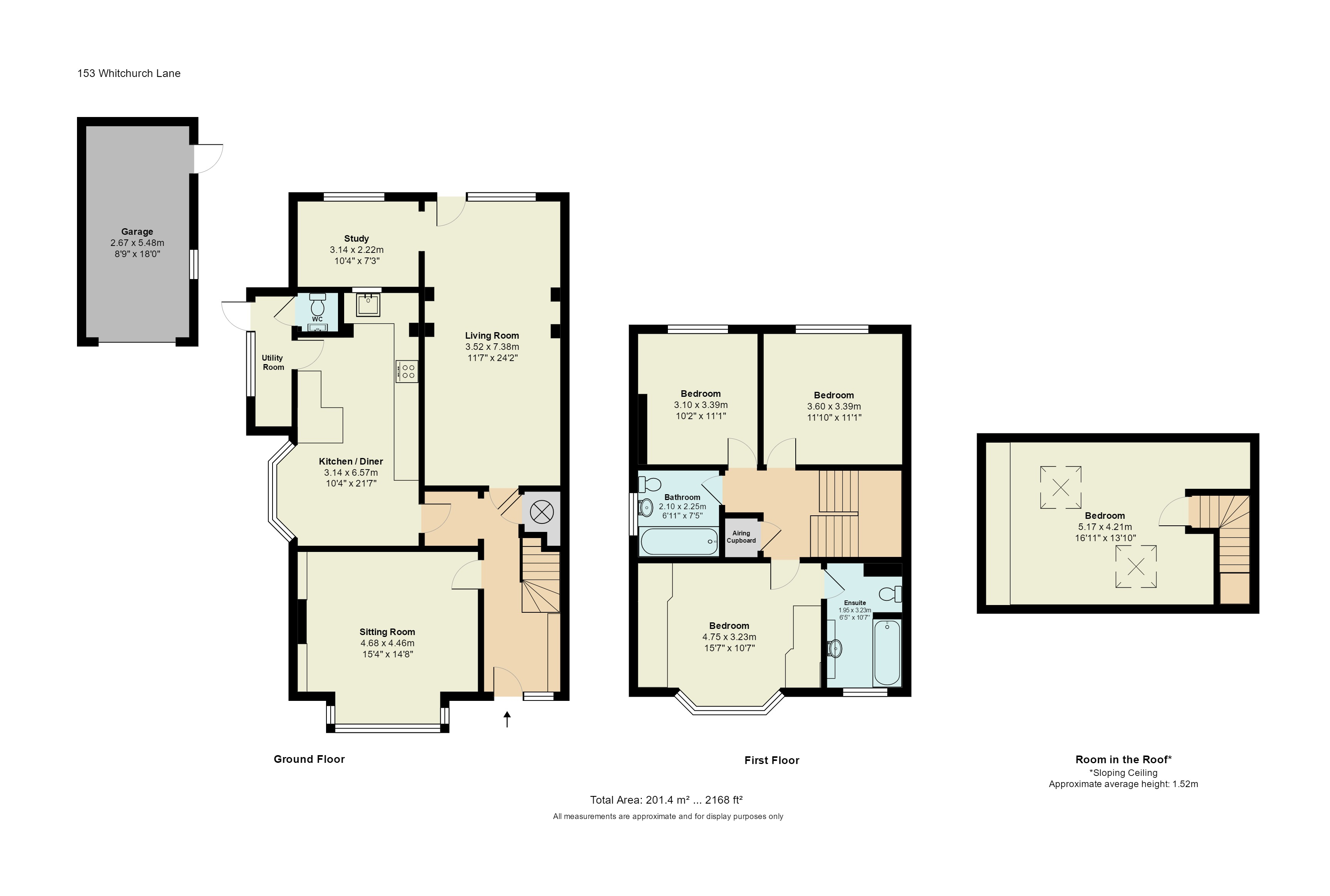 4 Bedroom Property For Sale In Whitchurch Lane Guide Price 785 000