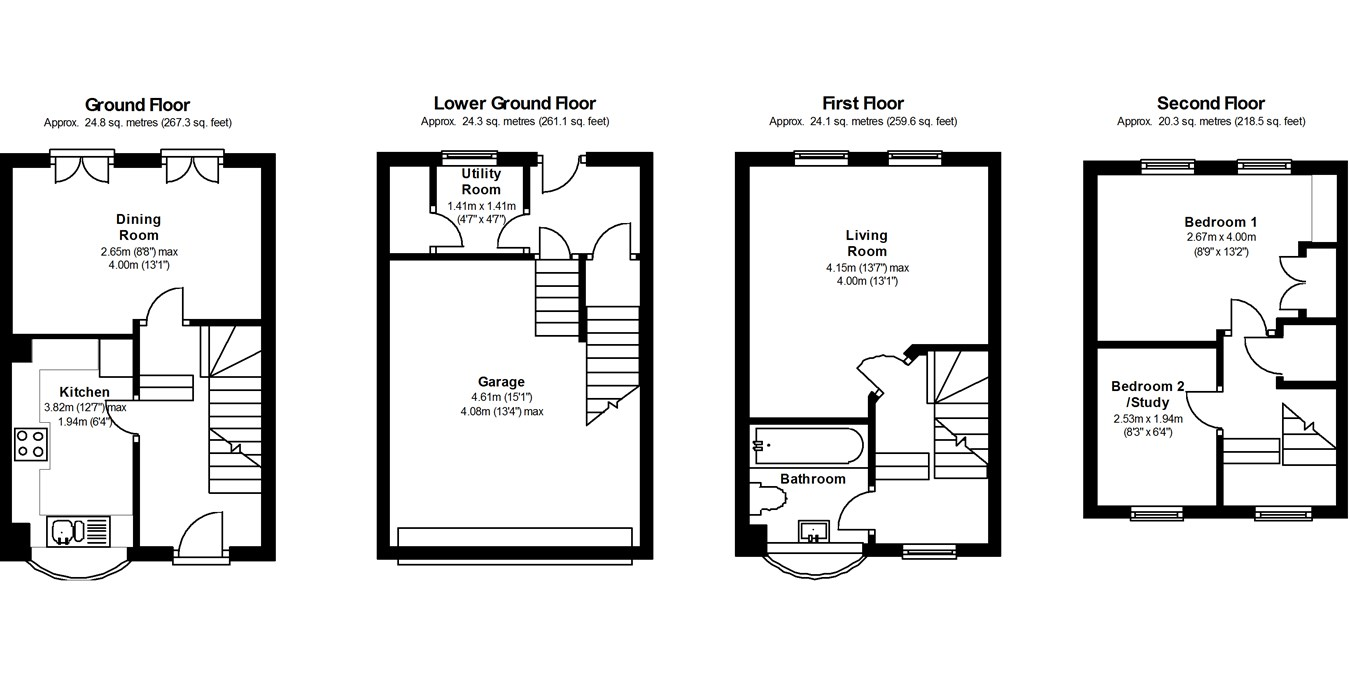 3 bedroom property for sale in dolphin mews brighton bn2 for 15 bruyeres mews floor plans