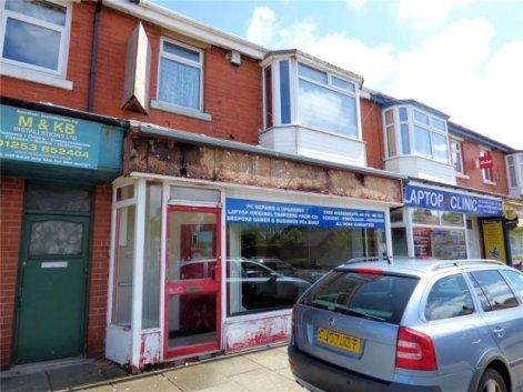 Shop & FF Apartment, Vicarage Lane, Blackpool, Lancashire
