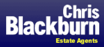 Chris Blackburn Estate Agents logo