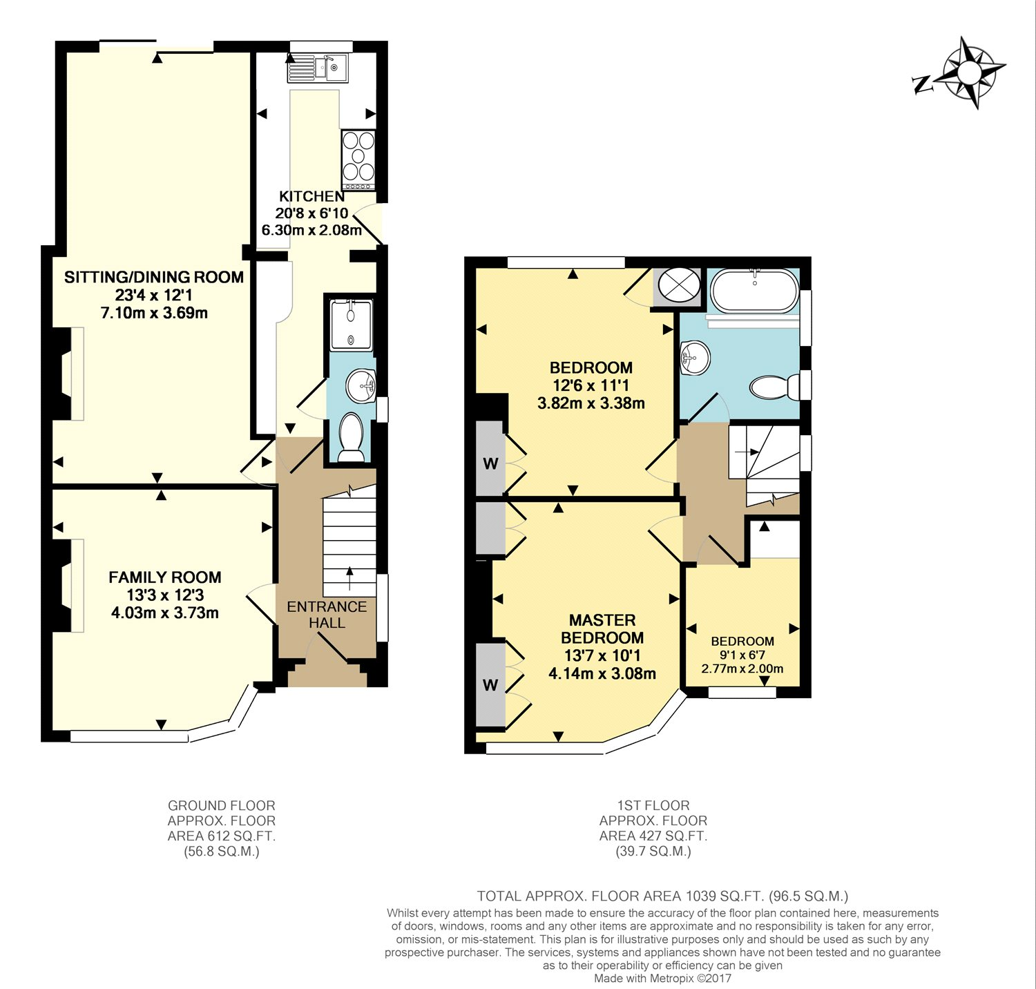 3 Bedroom Property For Sale In Orchard Way Reigate