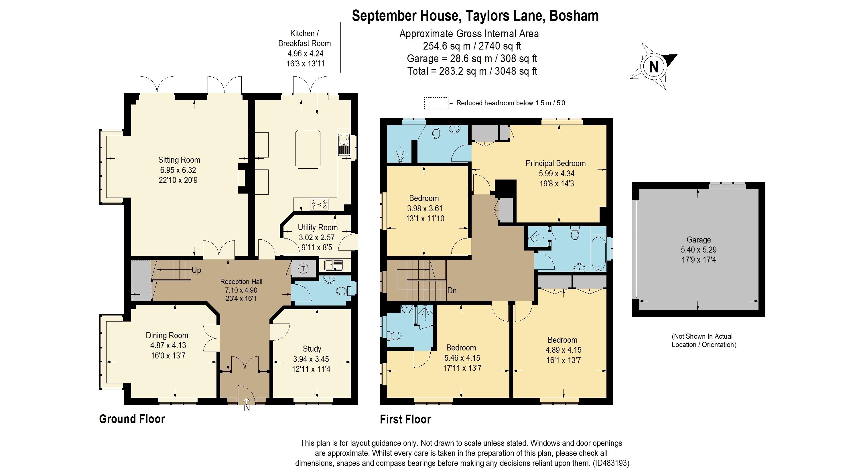 2D colour floor plans