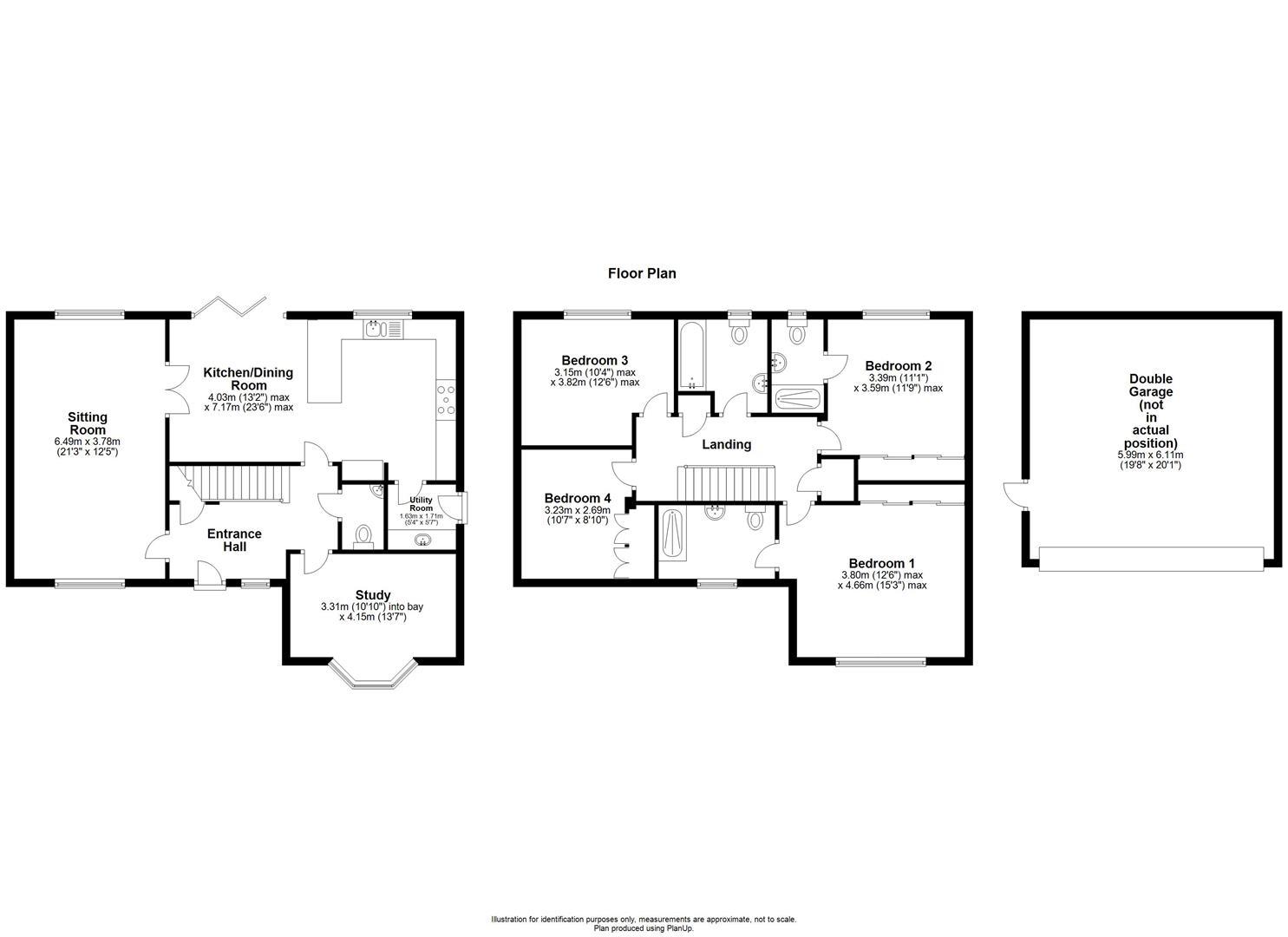 1 Barrington Court, Sutton Benger - Floorplan.JPG