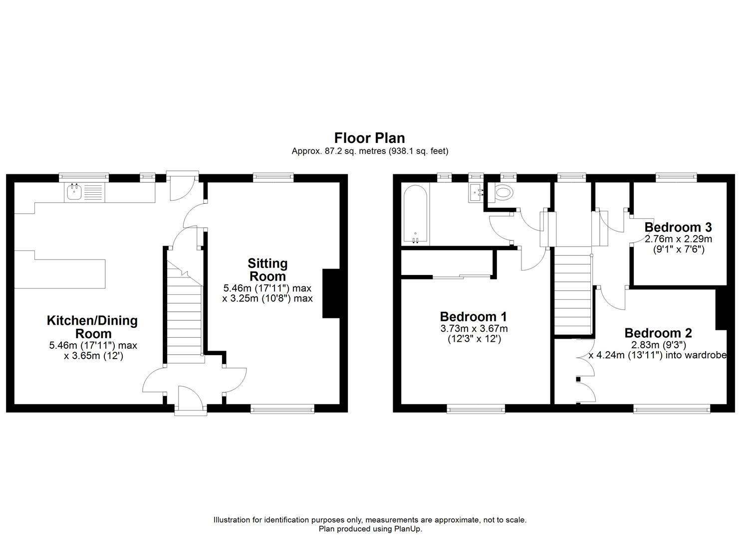 12 North End, Calne - Floorplan.JPG