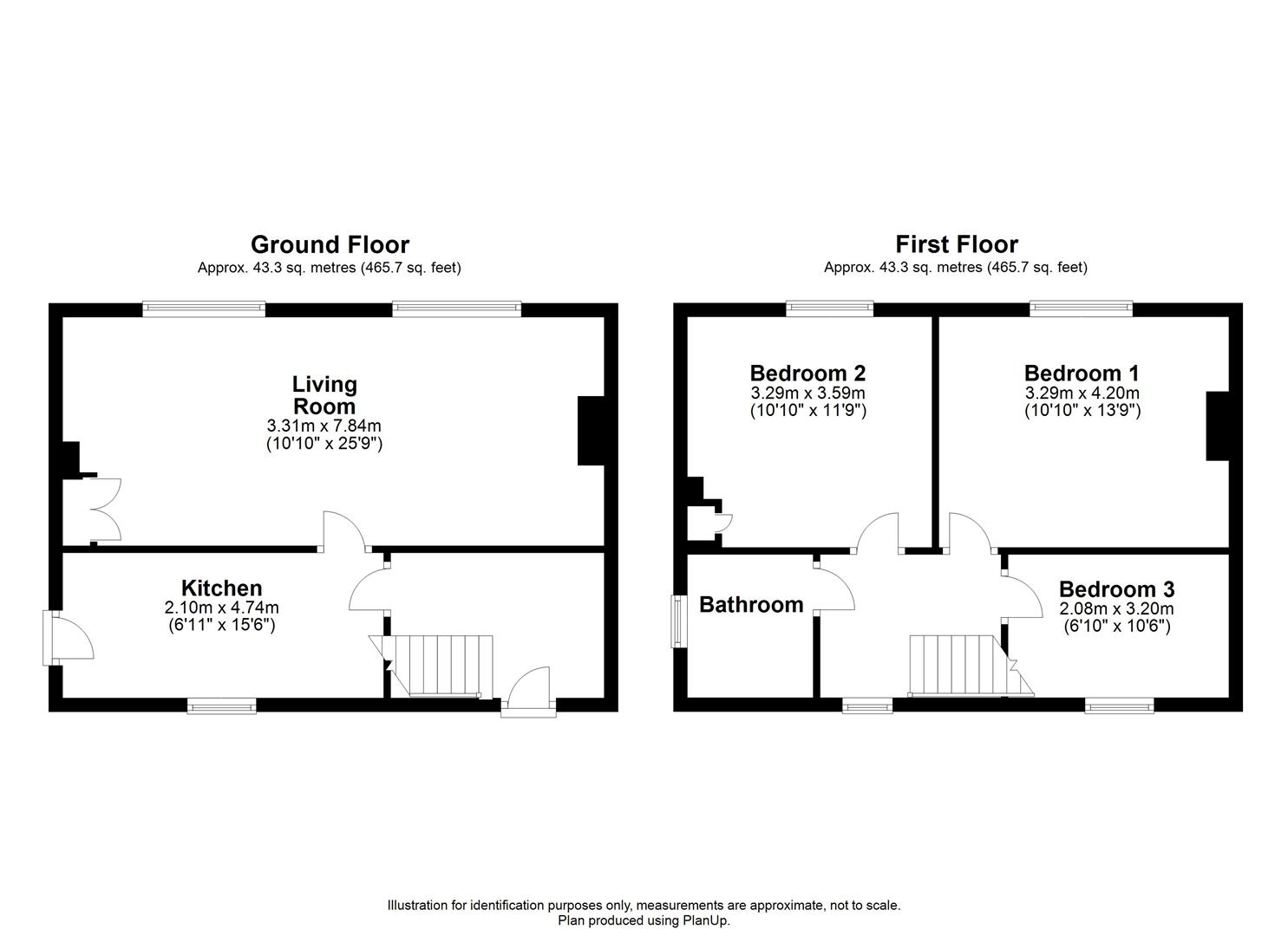 Floorplan - 5 Wick Bridge, Bremhill, Calne.JPG