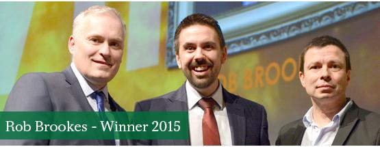 Rob Brookes, winner 2014