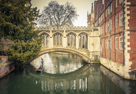 Cambridge punting river