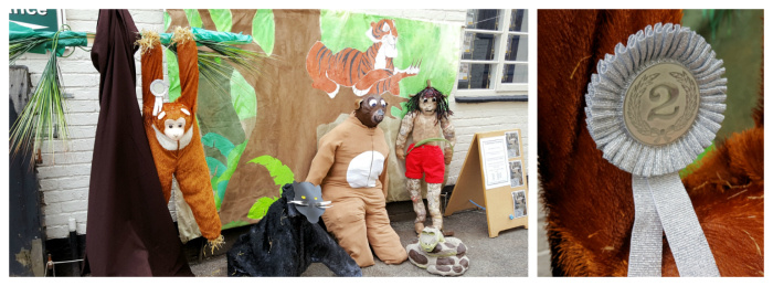 Jungle Book scarecrow Barton Gardens Festival 2016
