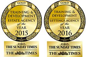 Training & Development GOLD awards