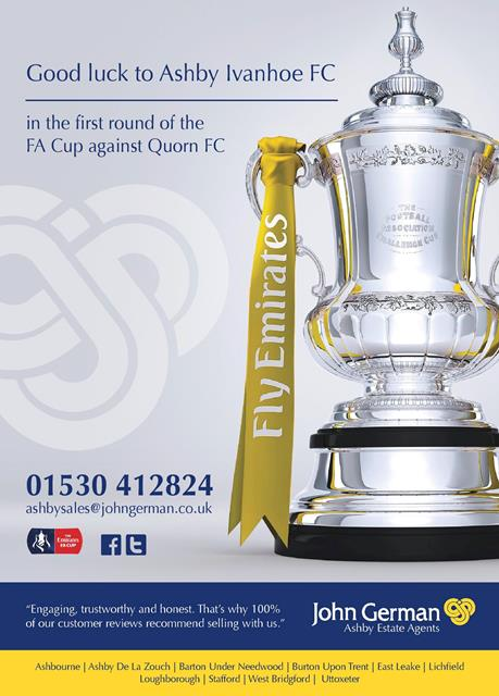 FA Cup Ashby Ivanhoe v Quorn AFC
