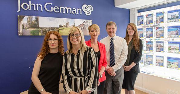 John German Ashby Sales Team