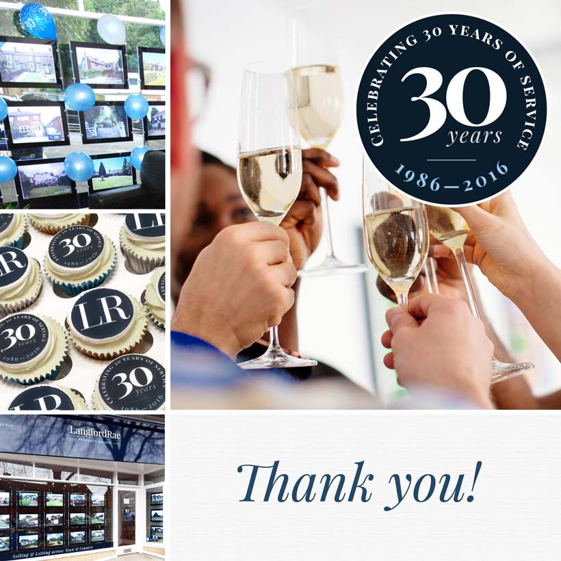 Thank you to everyone who came to our 30-year anniversary event