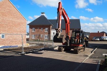 Land & New Homes Digger