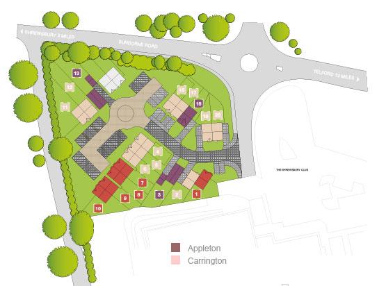 Saxon Grove Site Plan