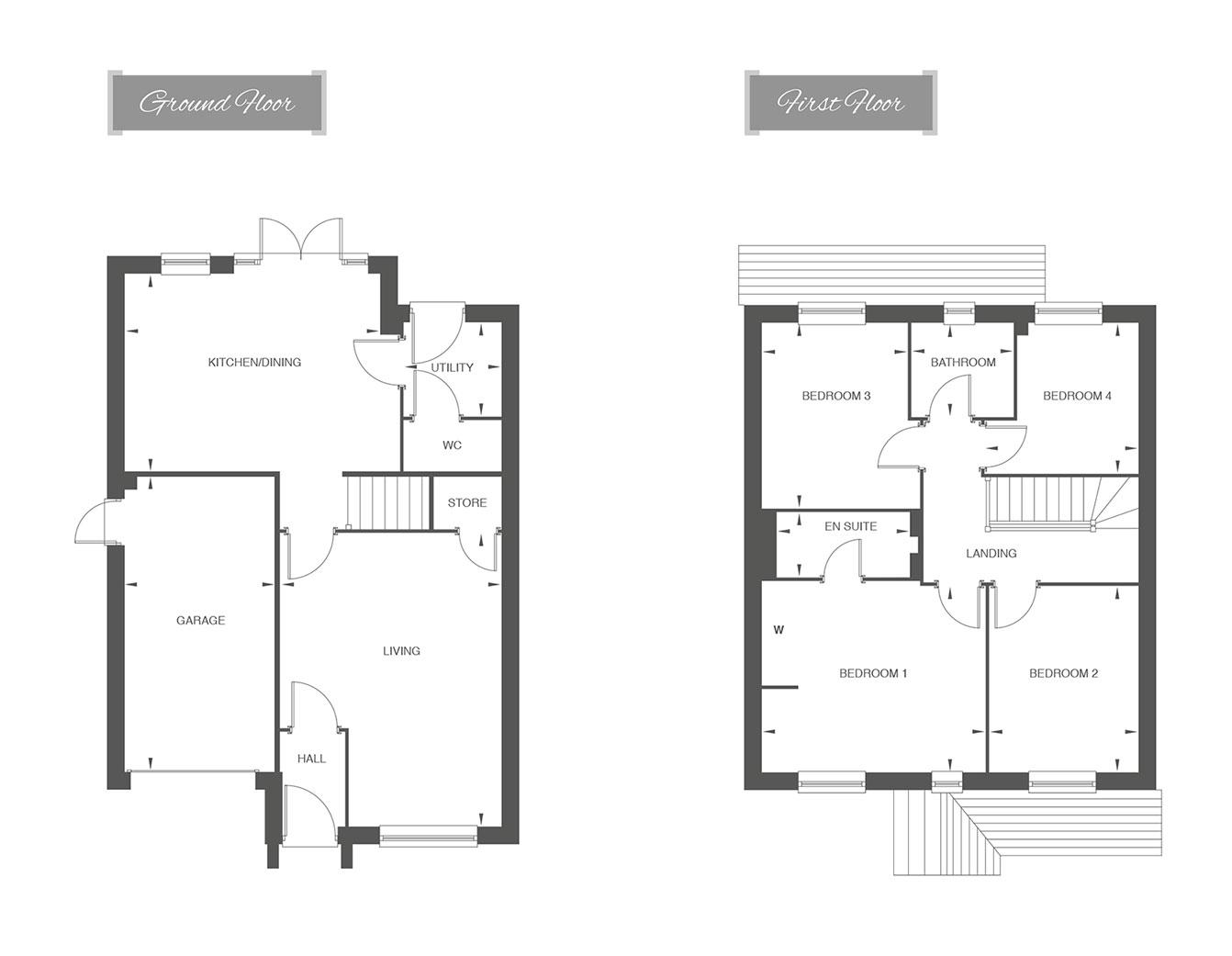 Kendale floor plan