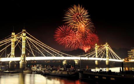 Battersea Fireworks