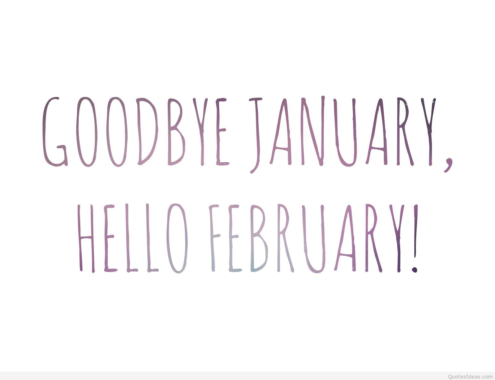 Goodbye January Chris Tinsley - 31 jan