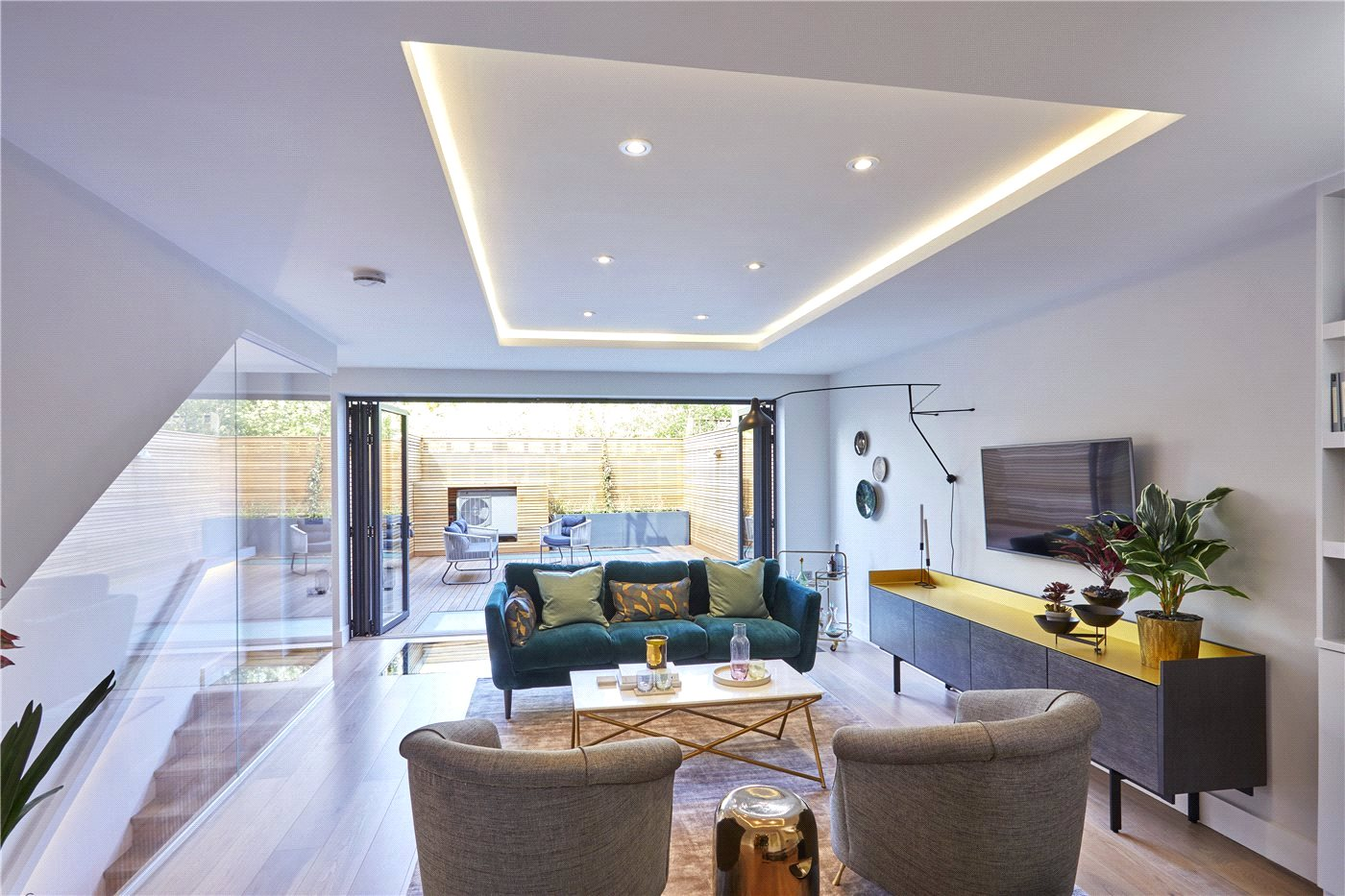 Brand new four bedroom modern town house in East Dulwich