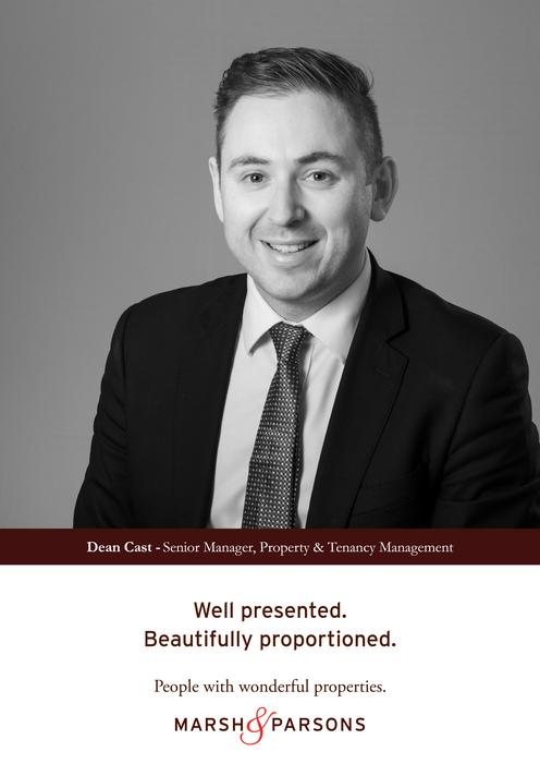 Dean Cast - Senior Manager, Property & Tenancy Management