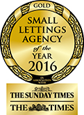 Small Lettings Agency of the Year GOLD award