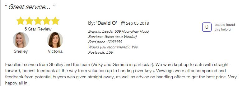All Agents, manning stainton Shelley Bradley and Victoria  five star review