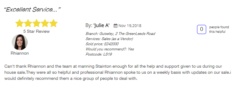 all agents five star review, manning stainton