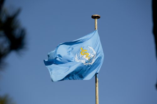World Health Organisation Flag
