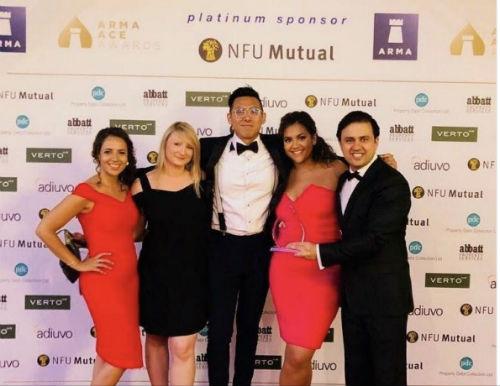 awards reception medium