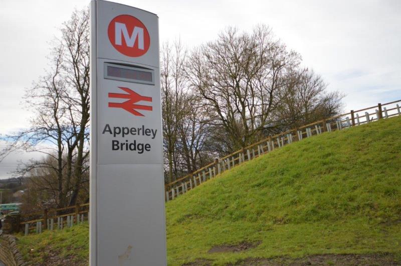 Apperley Bridge Train Station